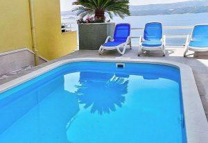 Výhled na bazén, - villa mira