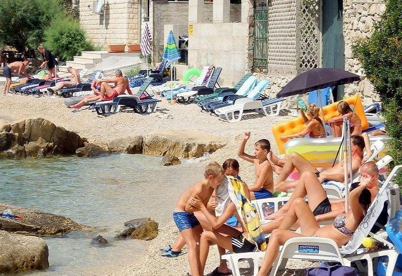 chorvatsko ubytování v soukromí u moře,