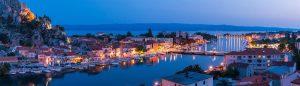 ubytování chorvatsko omiš
