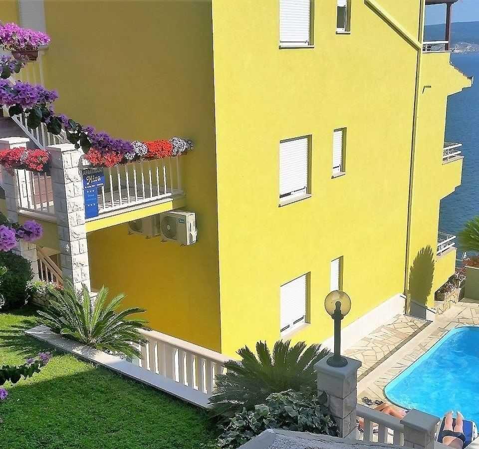 Apartmány s bazénem Omiš