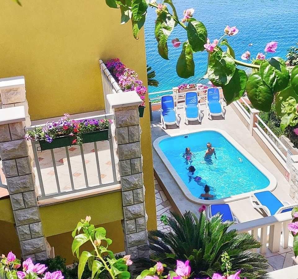 dovolená v chorvatsku villa mira
